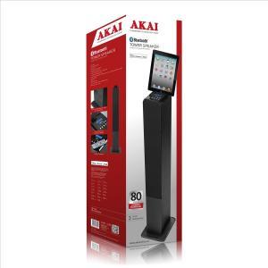 Akai Tower Speaker iPad Dock