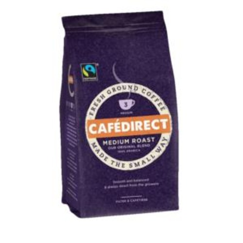 Caf Direct Cafe Direct Medium Roast and Ground Filter Coffee (60g) Sachet Ref FCR0008 (Pack of 45 Sachets)