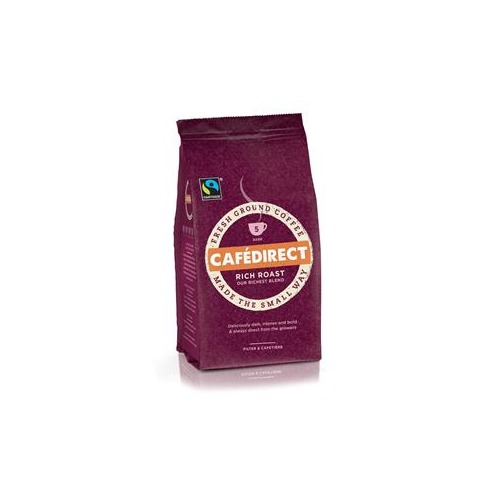 Caf Direct Cafe Direct Rich Roast Blend Ground Coffee FCR0003
