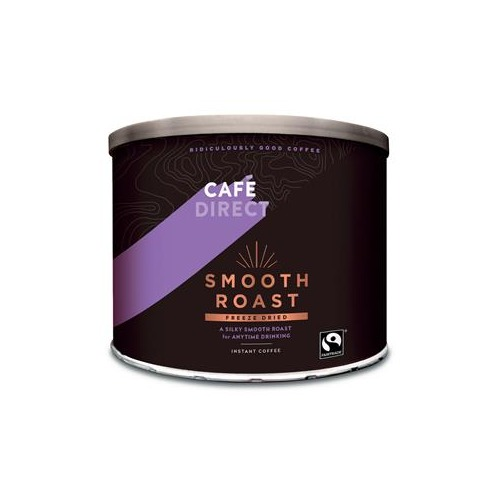 Caf Direct Cafe Direct Classics (500g) Fairtrade Medium Roast Instant Coffee Tin